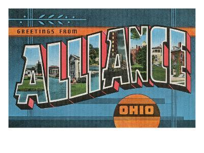 Greetings from Alliance, Ohio