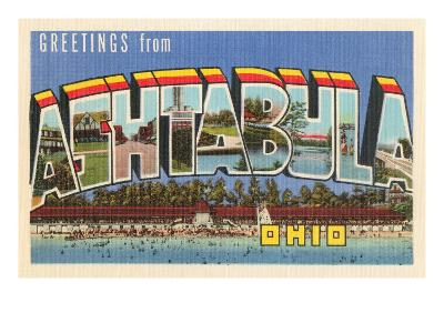 Greetings from Ashtabula, Ohio