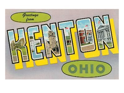 Greetings from Kenton, Ohio