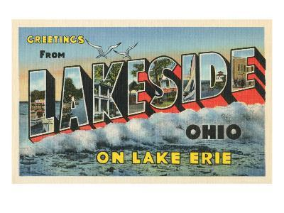 Greetings from Lakeside, Ohio