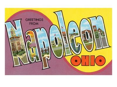 Greetings from Napoleon, Ohio