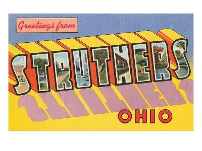 Greetings from Struthers, Ohio