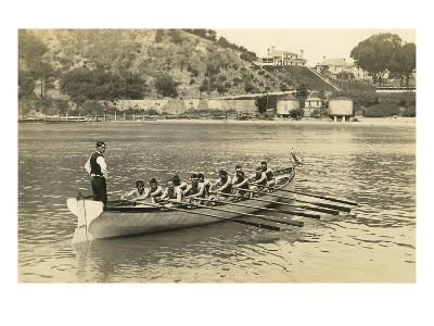 Rowing Crew at Practice