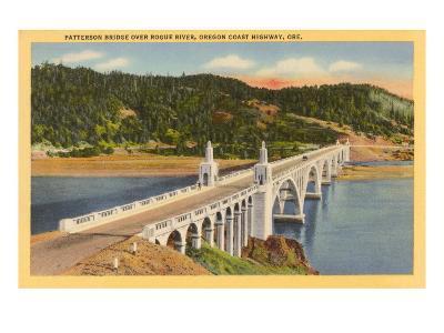 Patterson Bridge over Rogue River, Oregon