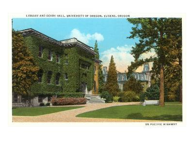 Library, University of Oregon, Eugene