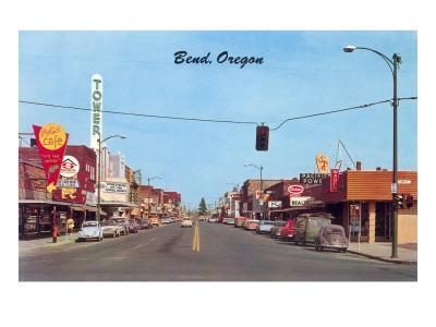 Main Street in Bend, Oregon