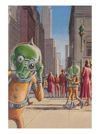 Aliens in the City