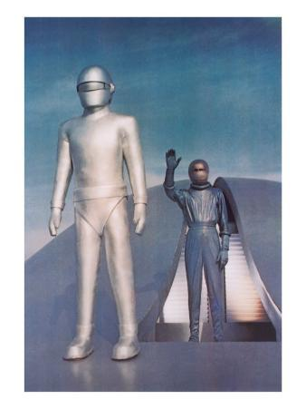 Robot from Day the Earth Stood Still