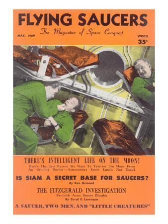 Fifties UFO Magazine Cover