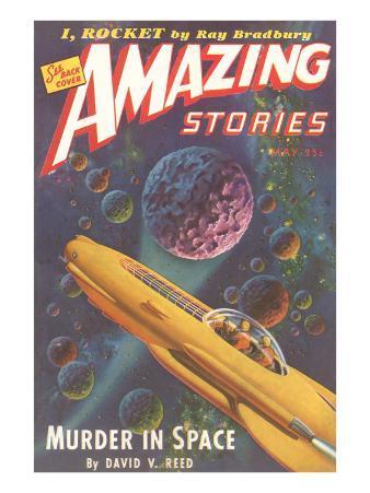 Amazing Stories Magazine Cover