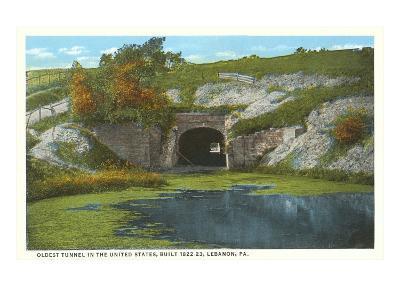 Oldest Tunnel, Lebanon, Pennsylvania