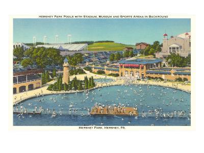 Pool and Park, Hershey, Pennsylvania