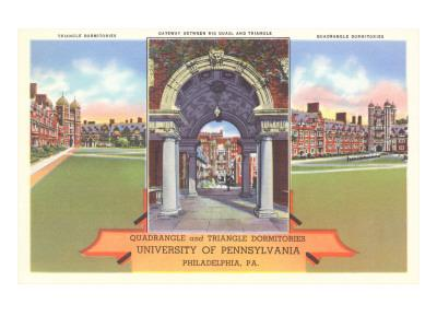 Quadrangle and Triangle Dormitories, University of Pennsylvania