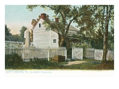 General Meade's Headquarters, Gettysburg, Pensylvania