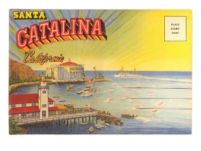 Postcard Folder, Santa Catalina, California