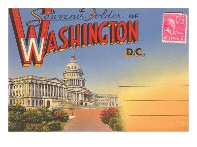 Postcard Folder, Washington, DC