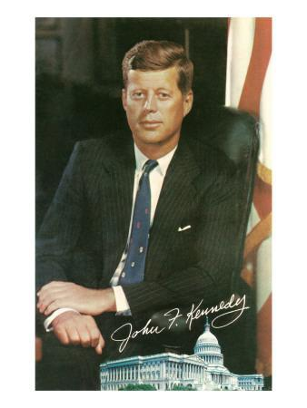 Painting of John F. Kennedy