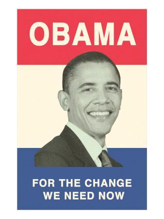 Obama Poster, Change We Need