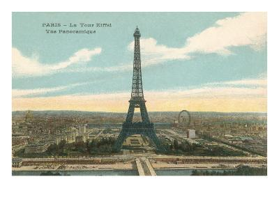 Eiffel Tower and Panoramic View of Paris