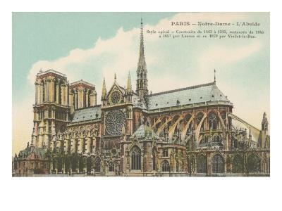 Apse of Notre Dame, Paris