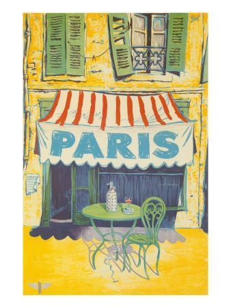 Outdoor Cafe, Paris, France