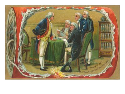 Framing of the Declaration of Independence
