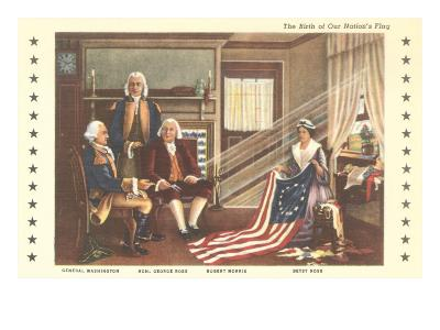 Betsy Ross and Birth of the Flag