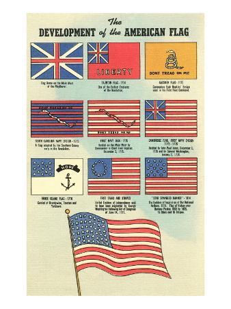 Development of the American Flag
