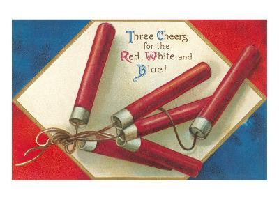 Three Cheers for the Red, White and Blue, Firecrackers