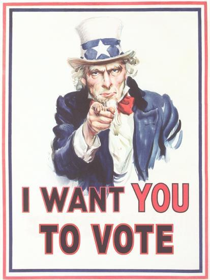 Image result for i want you to vote