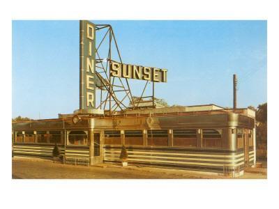 Sunset Diner, Roadside Retro