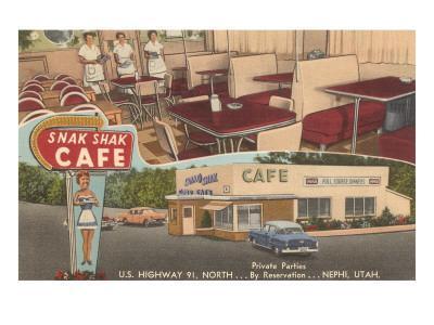Snak Shak Cafe, Retro Diner