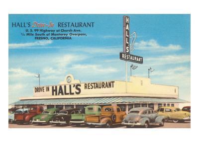 Hall's Drive-In, Roadside Retro