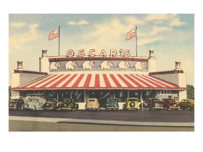 Oscar's Drive-In, Roadside Retro