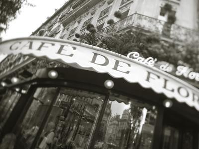 Cafe De Flore, Boulevard St. Germain, Paris, France