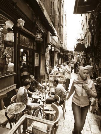 Egypt, Cairo, Islamic Quarter, Khan El Khalili Bazaar