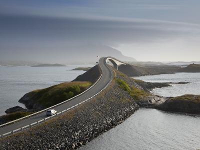 Storseisundbrua Bridge, the Atlantic Road, Romsdal, Norway