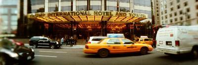 Cars in Front of a Hotel, Trump International Hotel And Tower, Columbus Circle, Manhattan, NY
