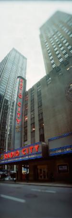 Stage Theater at the Roadside, Radio City Music Hall, Rockefeller Center, Manhattan, New York City