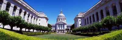 Formal Garden in Front of a Government Building, San Francisco City Hall, San Francisco, California