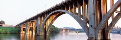 Bridge Across River, Henley Street Bridge, Tennessee River, Knoxville, Knox County, Tennessee, USA