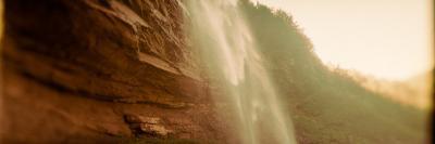Waterfall, Kaaterskill Falls, Catskill Mountains, Hunter, Greene County, New York State, USA