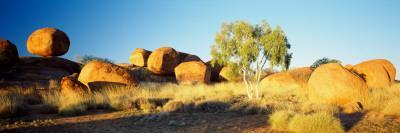 Rock Formations on a Landscape, Devil's Marbles, Northern Territory, Australia