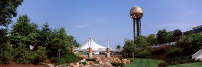 Sunsphere in a Fair, World's Fair Park, Knoxville, Knox County, Tennessee, USA