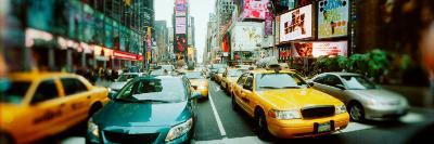 Traffic on a Road, Times Square, Manhattan, New York City, New York State, USA