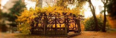 Gazebo in a Park, Central Park, Manhattan, New York City, New York State, USA