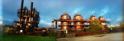 Old Oil Refinery, Gasworks Park, Seattle, King County, Washington State, USA