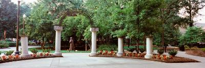 Entrance of a Park, Krutch Park, Knoxville, Knox County, Tennessee, USA