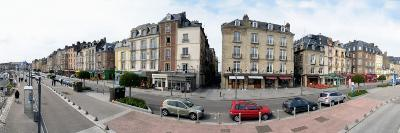 Traffic on Road in a City, Dieppe, Seine-Maritime, Normandy, France