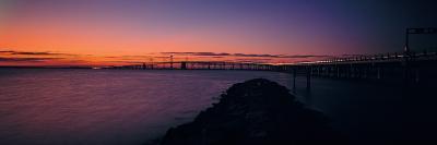 Bridge Across a Bay, Chesapeake Bay Bridge, Maryland, USA